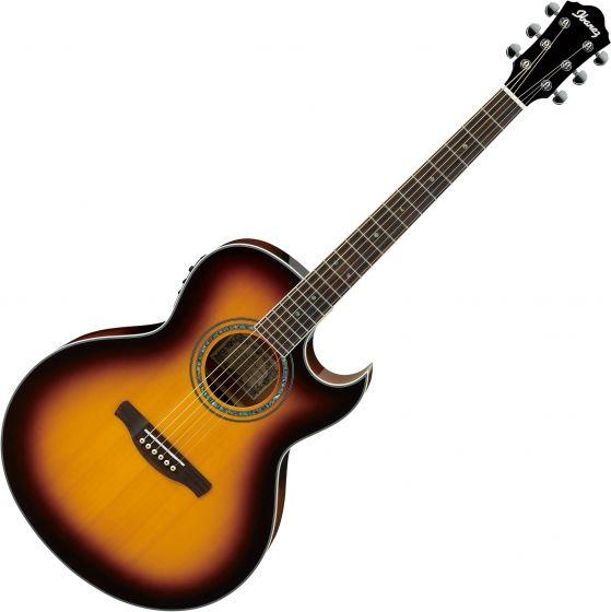 Ibanez Joe Satriani JSA5 Signature Acoustic Electric Guitar Vintage Burst JSA5VB