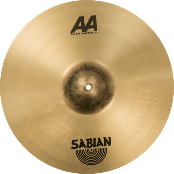 """Sabian 18"""" AA Raw Bell Crash 2180772"""