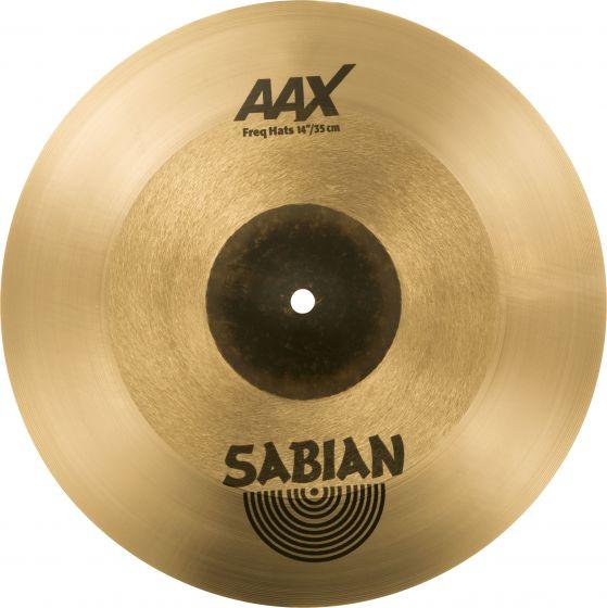 "Sabian 14"" AAX Freq Hats 214XFHN"