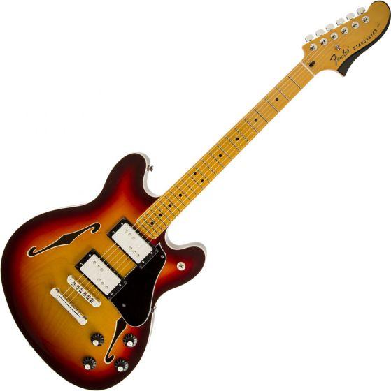Fender Starcaster Semi-Hollow Electric Guitar Cherry Burst 0243102531