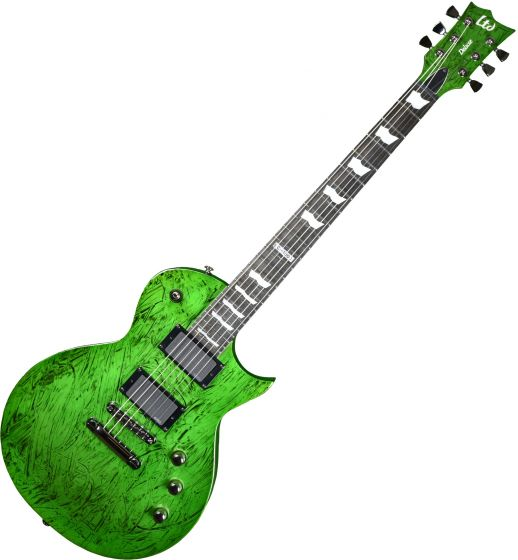 ESP LTD Deluxe EC-1000 Prototype Electric Guitar Swirl Green Finish LXEC1000SWG.P 0692