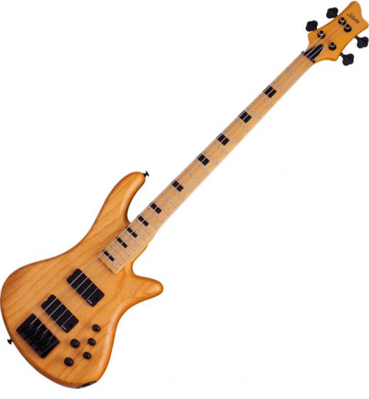 Schecter Session Stiletto-4 Electric Bass in Aged Natural Satin Finish SCHECTER2850