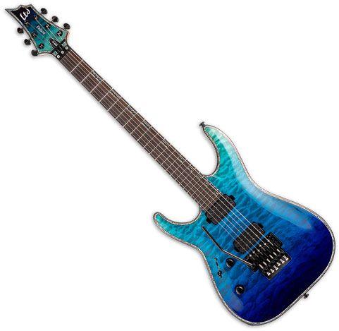 ESP LTD H-10001FR Left Handed Electric Guitar Violet Shadow Fade sku number LH1001FRQMVSHFDLH