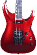 ESP Horizon-I Electric Guitar in Deep Candy Apple Red with Case EHORIDCAR