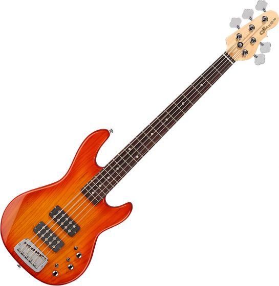 G&L Tribute L-2500 Electric Bass Honeyburst TI-L25-121R38R00