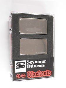 Seymour Duncan AHB-1S Original Blackouts Neck/Bridge Pickup Set Nickel Cover 11106-32-Nc