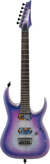 Ibanez RGA61AL IAF RGA Axion Label 6 String Indigo Aurora Burst Flat Electric Guitar RGA61ALIAF