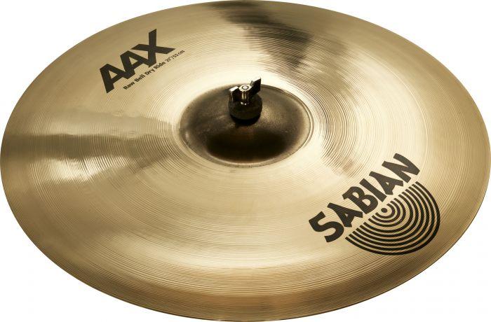 """Sabian 21"""" AAX Raw Bell Dry Ride Brilliant Finish 22172XB"""