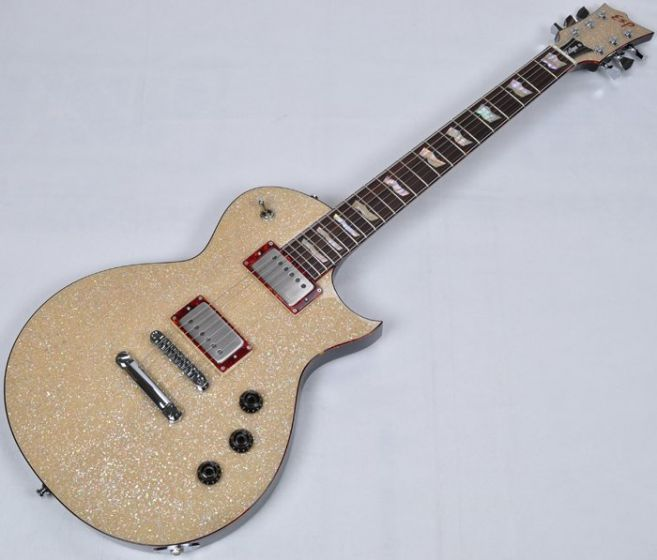 ESP Eclipse CTM Electric Guitar in Crushed Shell Finish 40th Anniversary Limited Exhibition sku number EEC40CCTM