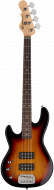G&L Tribute L-2000 Left-Handed Electric Bass 3-Tone Sunburst TI-L20-120L20R00