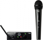 AKG WMS40 Mini Single Vocal Set Wireless Microphone System - Band C 3347X00130