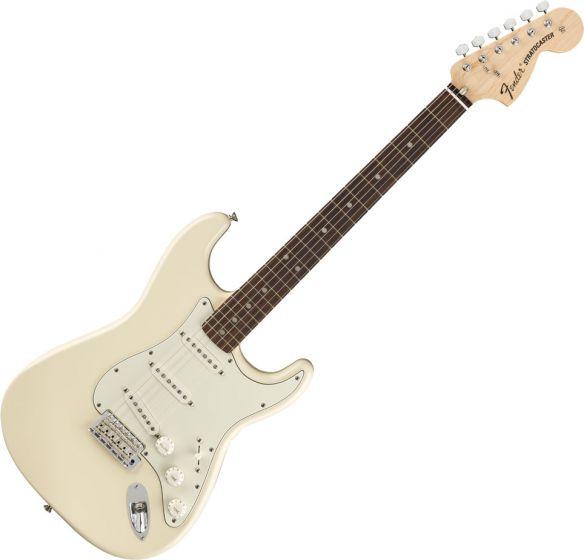 Fender Albert Hammond Jr Stratocaster Electric Guitar Olympic White 0146810305