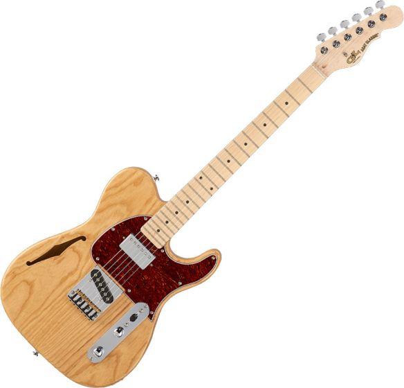 G&L Tribute ASAT Classic Bluesboy Semi-Hollow Electric Guitar Natural Gloss TI-ACB-122R40M40