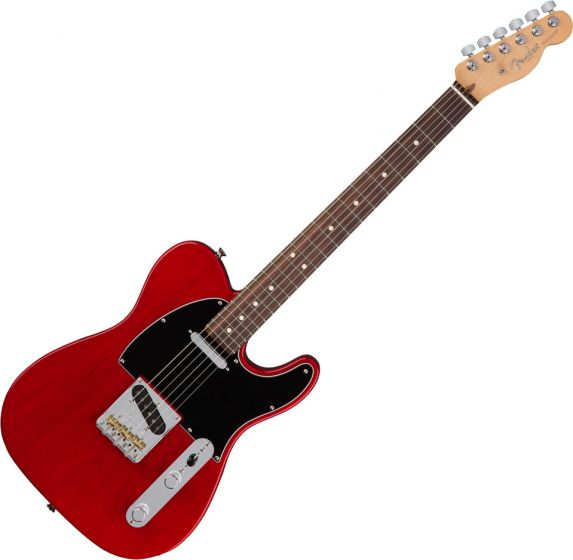 Fender American Professional Telecaster Electric Guitar Crimson Red Transparent 0113060738