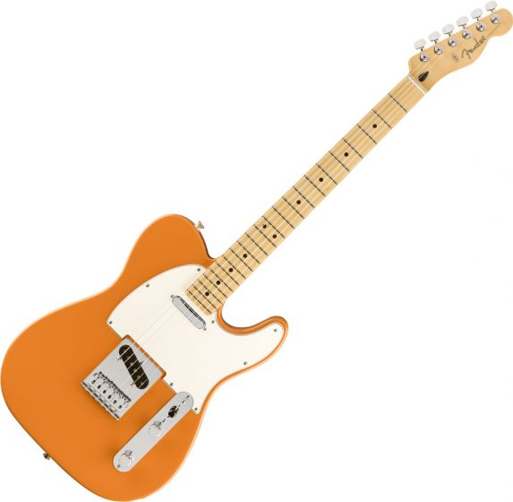 Fender Player Telecaster Electric Guitar Capri Orange 0145212582
