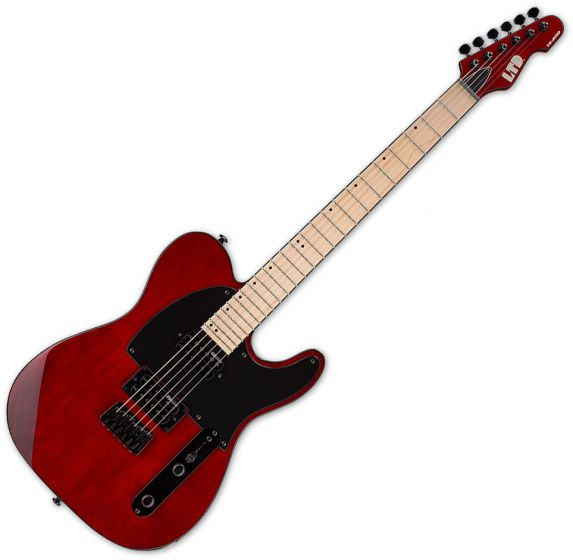 ESP LTD TE-200 Electric Guitar See Thru Black Cherry LTE200MSTBC