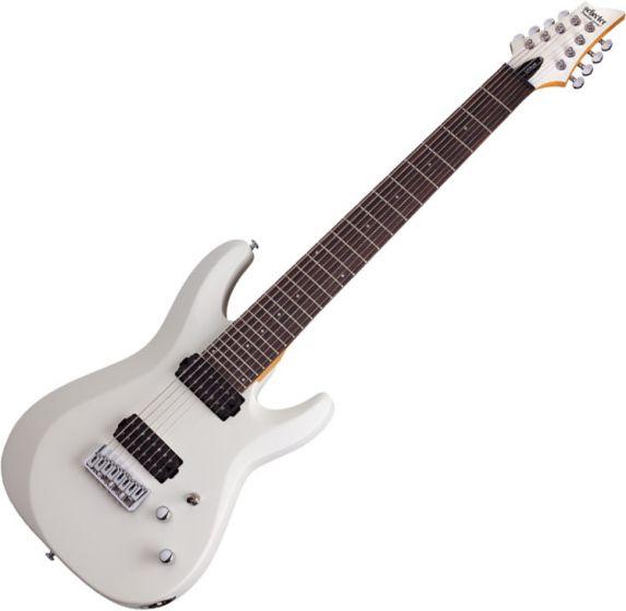 Schecter C-8 Deluxe Electric Guitar Satin White sku number SCHECTER441