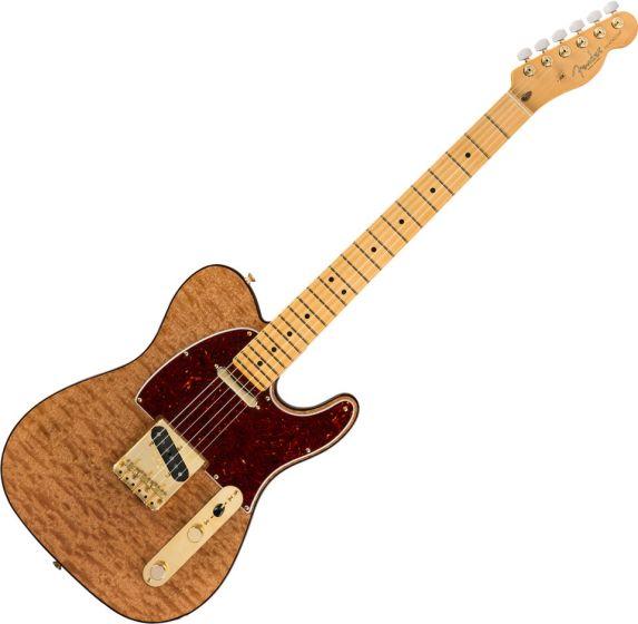 Fender Rarities Red Mahogany Top Telecaster Electric Guitar in Natural 0176506821
