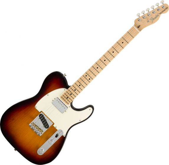 Fender American Performer Telecaster Hum Electric Guitar in 3-Color Sunburst 0115122300