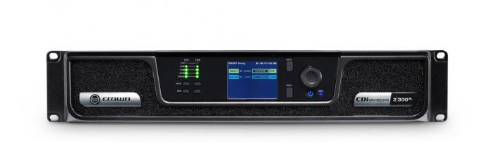 Crown Audio CDi 2|300BL Analog + Blue Link Drivecore Series Amp GCDI2x300BL-U-US