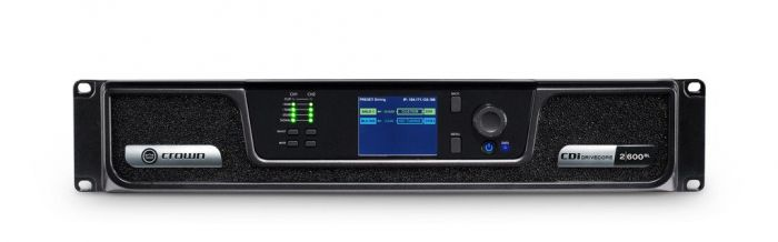 Crown Audio CDi 2 600BL Analog + Blue Link Drivecore Series Amplifier GCDI2x600BL-U-US