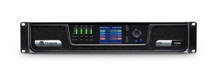 Crown Audio CDi 4|300 Analog Input Drivecore Series Amplifier GCDI4x300-U-US