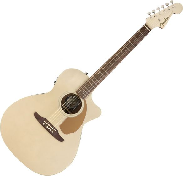 Fender Newporter Player Acoustic Guitar Champagne 0970743044