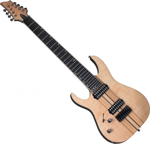 Schecter Banshee Elite-8 Left-Handed Electric Guitar Gloss Natural SCHECTER1259
