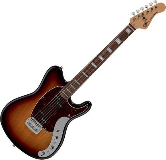 G&L CLF Research Espada Electric Guitar Old School Tobacco ESPADA-CLF-3TS-CR