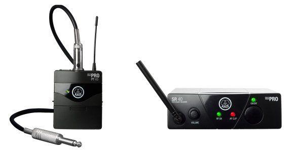 AKG WMS40 Mini Single Instrumental Set Wireless Microphone System - Frequency B 3348H00070