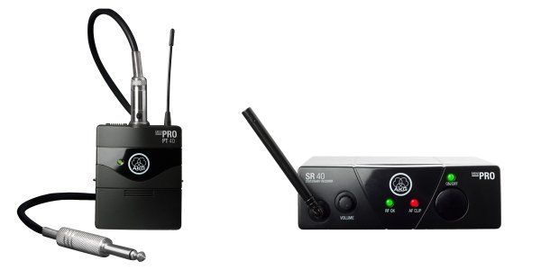 AKG WMS40 Mini Single Instrumental Set Wireless Microphone System - Band C 3348H00130