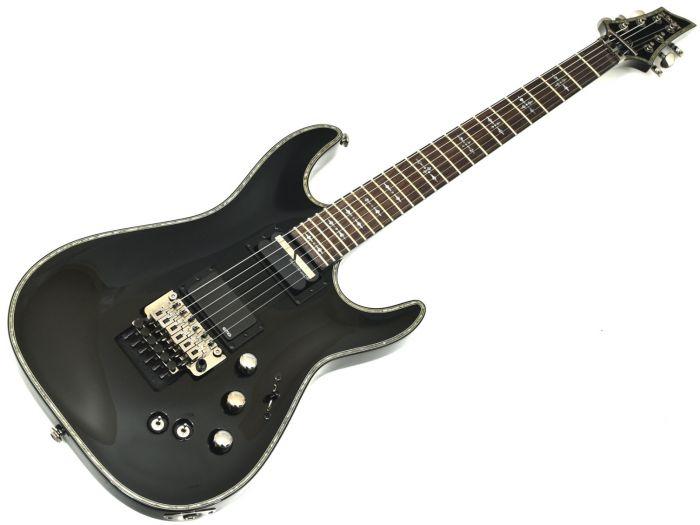 Schecter Hellraiser C-1 FR S Electric Guitar Gloss Black B-Stock 2465 sku number SCHECTER1827.B 2465