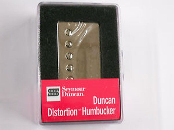 Seymour Duncan Humbucker SH-6N Duncan Distortion Neck Pickup Nickel Cover 11102-25-Nc