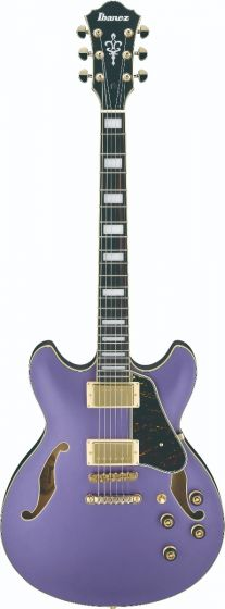Ibanez AS73G MPF AS Artcore Metallic Purple Flat Semi-Hollow Body Electric Guitar AS73GMPF