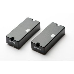 Seymour Duncan AHB-3S Blackouts EMTY Mick Thompson Neck/Bridge Pickup Set 11106-52-B