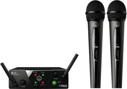 AKG WMS40 Mini Dual Vocal Set - Channels C/D 3350X00060