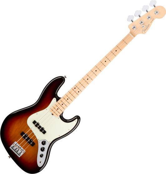 Fender American Pro Jazz Bass Electric Guitar 3-Color Sunburst 0193902700