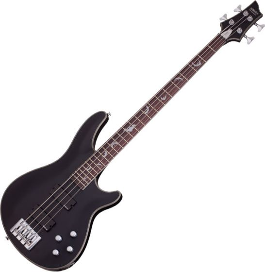 Schecter Damien Platinum-4 Electric Bass Satin Black sku number SCHECTER1200