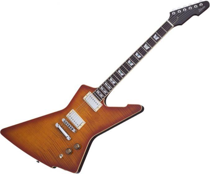 Schecter E-1 Standard Electric Guitar Honey Sunburst SCHECTER1323