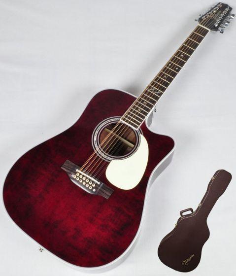 Takamine Signature Series JJ325SRC-12 John Jorgenson 12 String Acoustic Guitar in Gloss Polyurethane Finish TAKJJ325SRC12