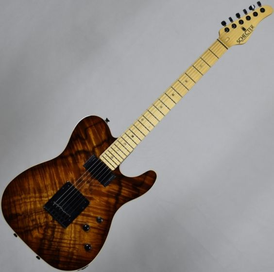 Schecter PT Koa Top Vintage Burst USA Custom Shop Electric Guitar SCHECTERUPTKVB