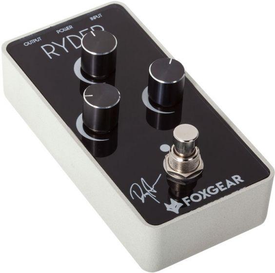FoxGear Ryder Doug Aldrich Signature Distortion Pedal FOX-RYD