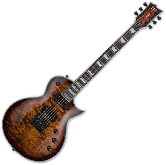 ESP LTD EC-1000 Evertune Electric Guitar Dark Brown Sunburst B-Stock LEC1000ETQMDBSB.B