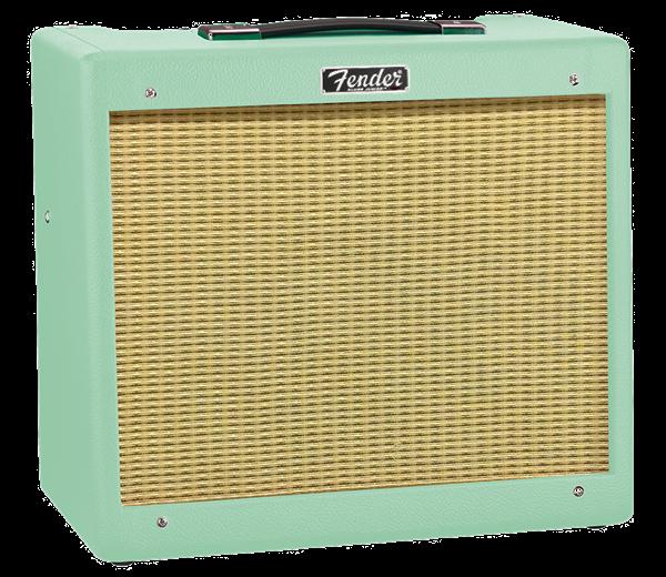 Fender Blues Junior IV Surf Green P12Q Tube Amp 2231500971