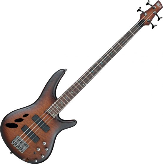Ibanez SR Standard SR30TH4 Semi-Hollow Electric Bass Natural Browned Burst Flat SR30TH4NNF