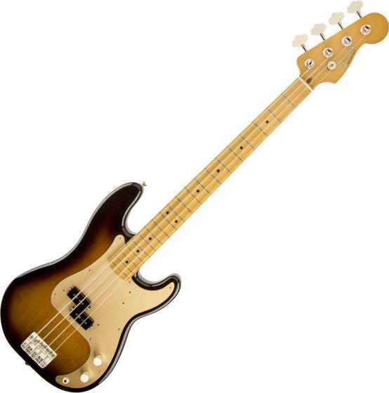 Fender 50s Precision Electric Bass in 2-Color Sunburst 0131702303