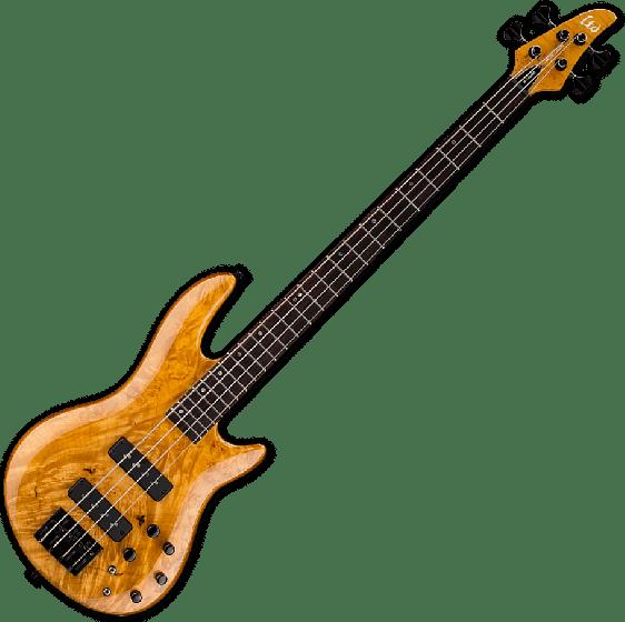 ESP LTD H-1004SE Electric Bass in Honey Natural Finish LH1004SEBMHN