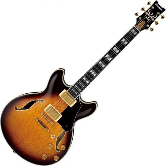 Ibanez Signature John Scofield JSM100 Hollow Body Electric Guitar Vintage Sunburst JSM100VT
