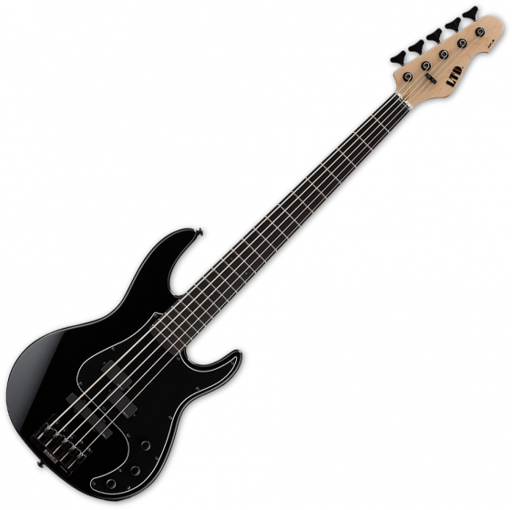 ESP LTD AP-5 5-String Electric Bass Black LAP5BLK