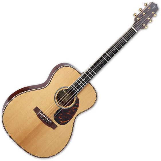 Takamine EF75M TT OM Body Acoustic Guitar Natural TAKEF75MTT